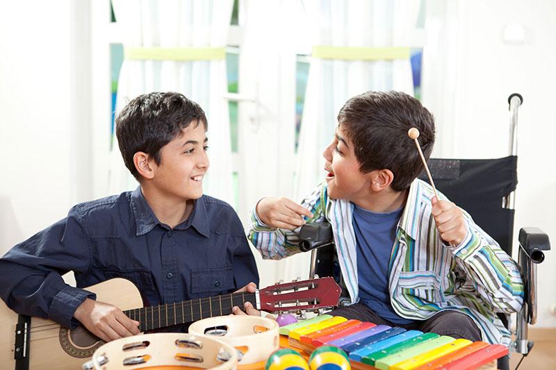 μουσική για παιδιά με αναπηρία
